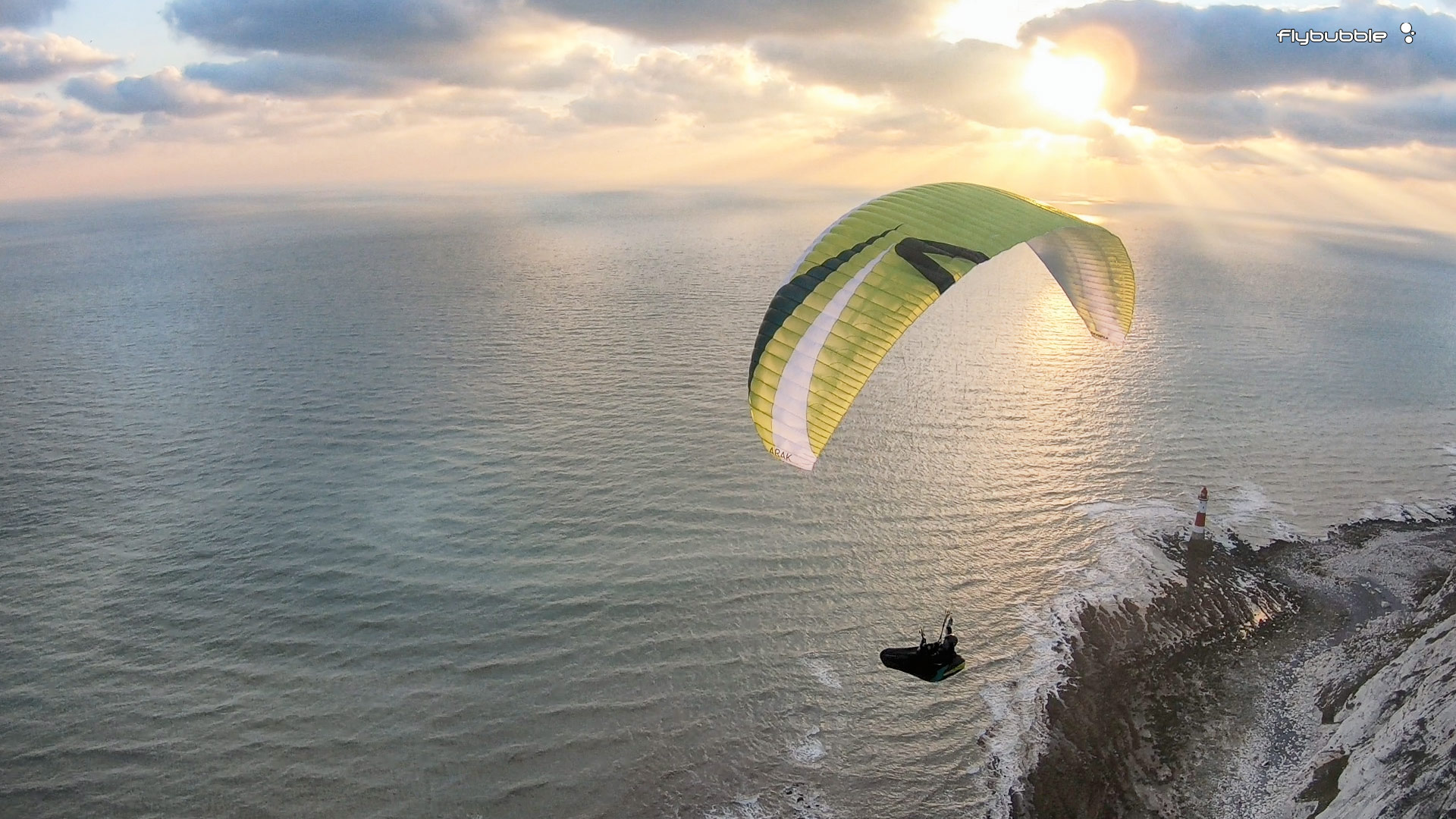 Skywalk ARAK paraglider review: magic moment