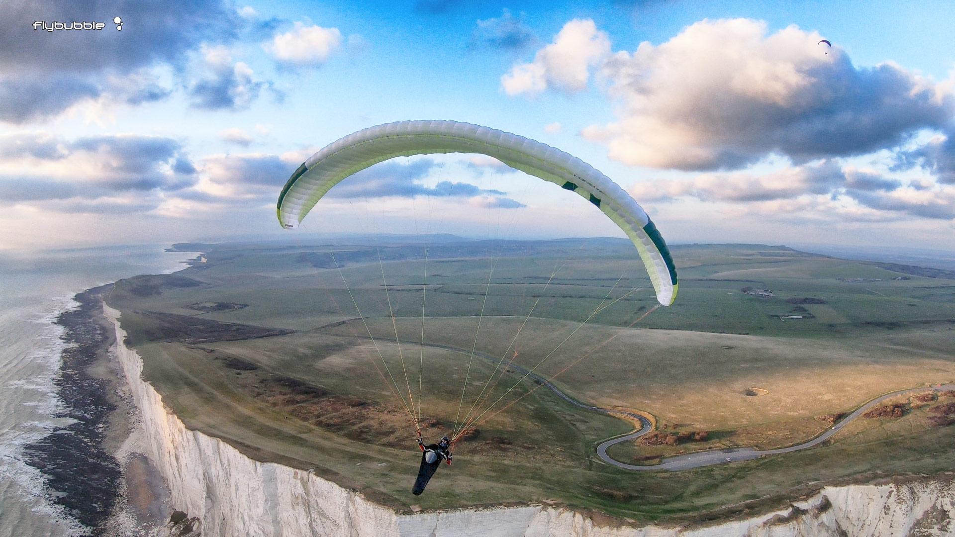 Skywalk ARAK paraglider review: head on