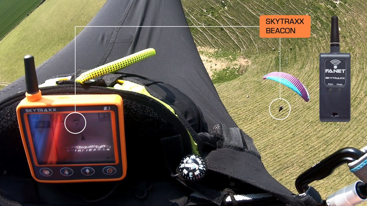 Skytraxx Beacon FANET+ review