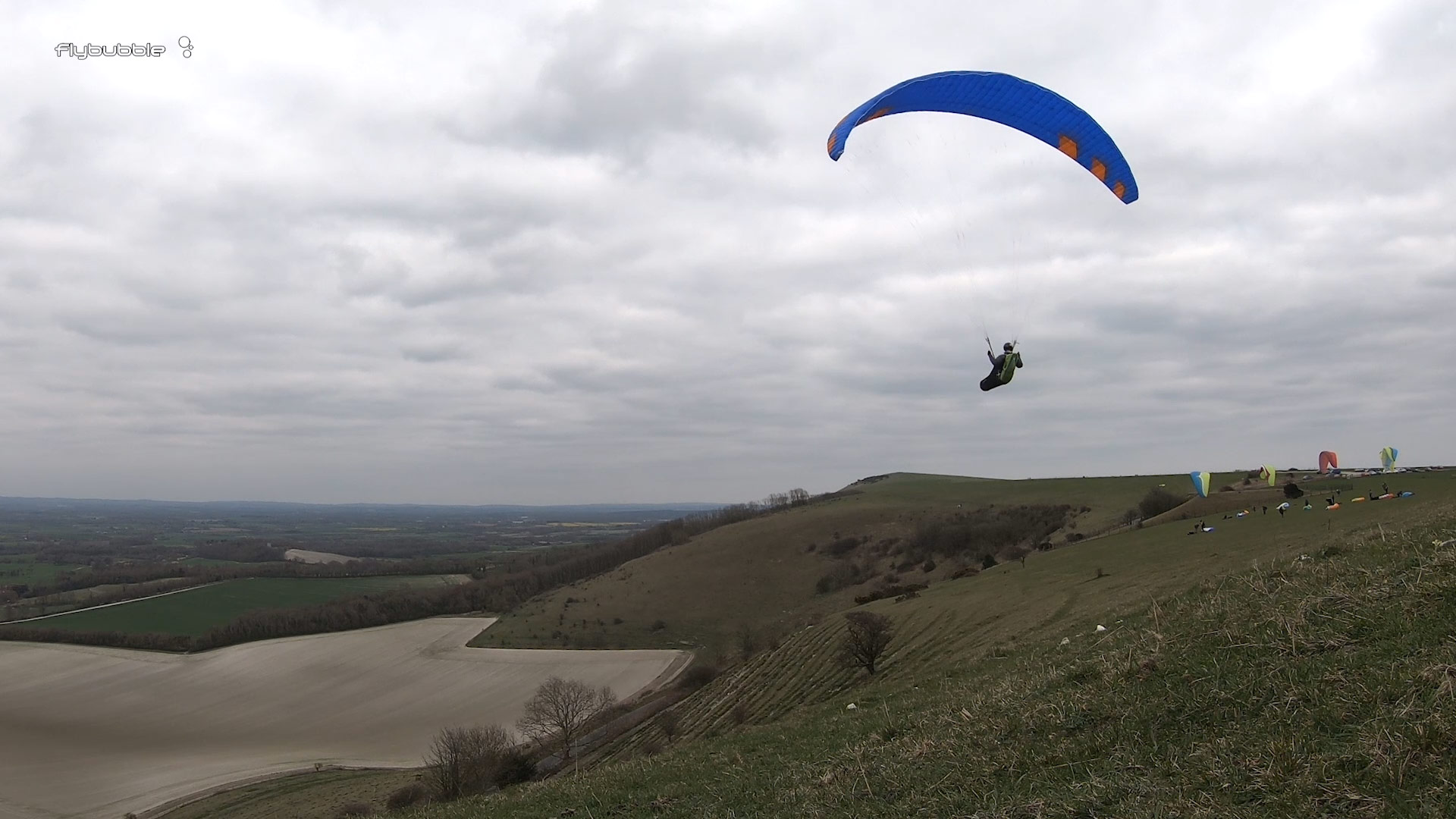 Phi MAESTRO paraglider review - gliding