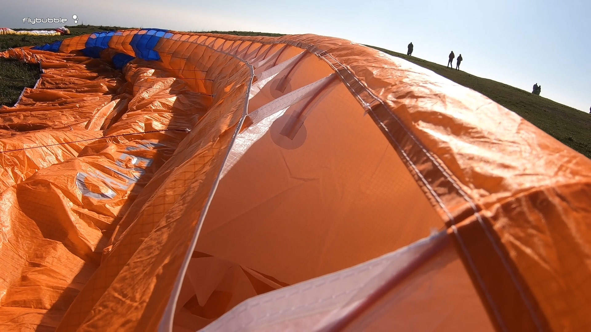 Phi MAESTRO paraglider review - leading edge