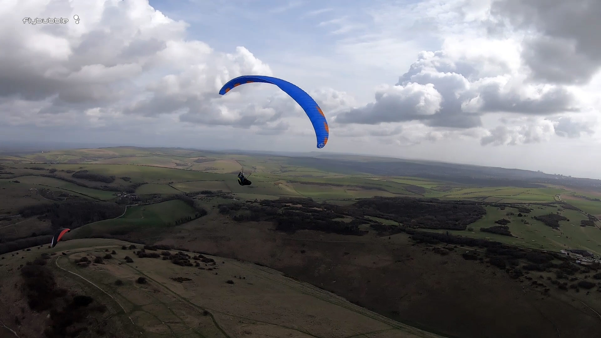 Phi MAESTRO paraglider review - thermaling