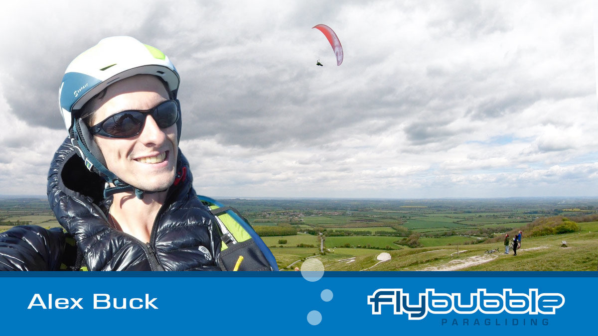 Alex Buck (Flybubble Team Pilot)