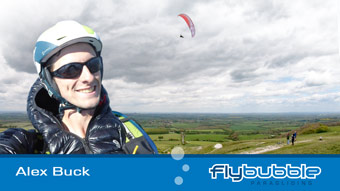 Flybubble Team Pilot ALEX BUCK