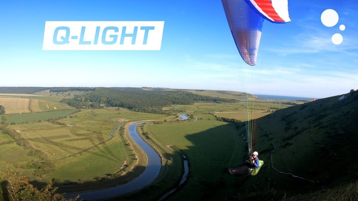 Triple Seven Q-LIGHT paraglider review