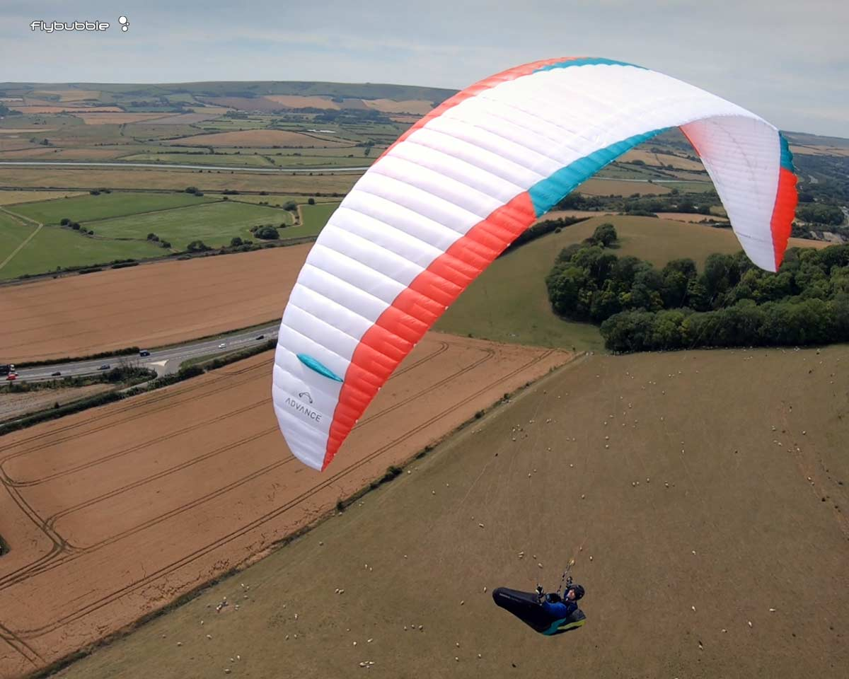 Advance OMEGA XALPS 3 review: gliding