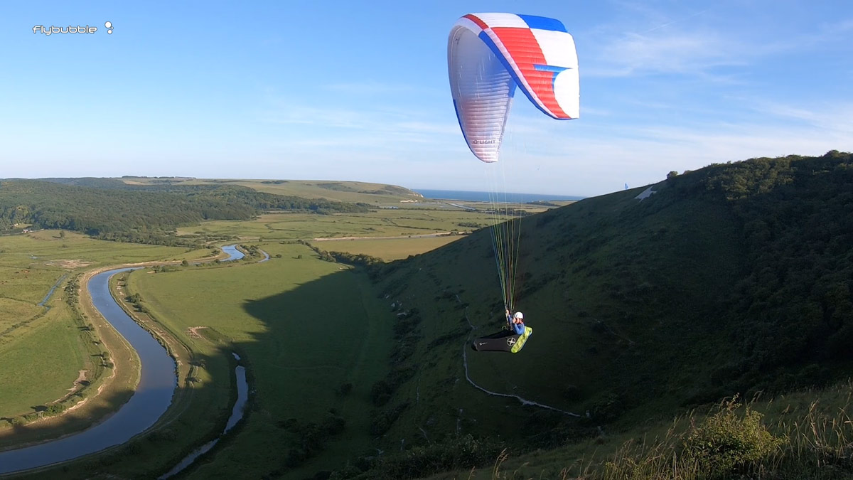 Triple Seven Q-LIGHT paraglider review: fly past