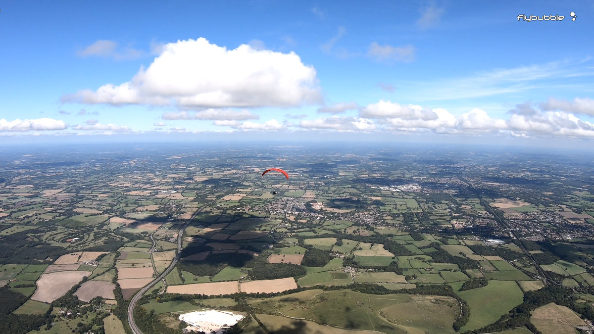 The Flybubble Challenge 2019: open skies