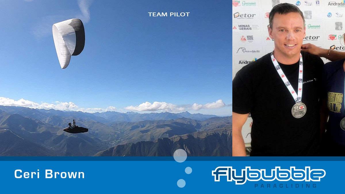 Ceri Brown (Flybubble Team Pilot)