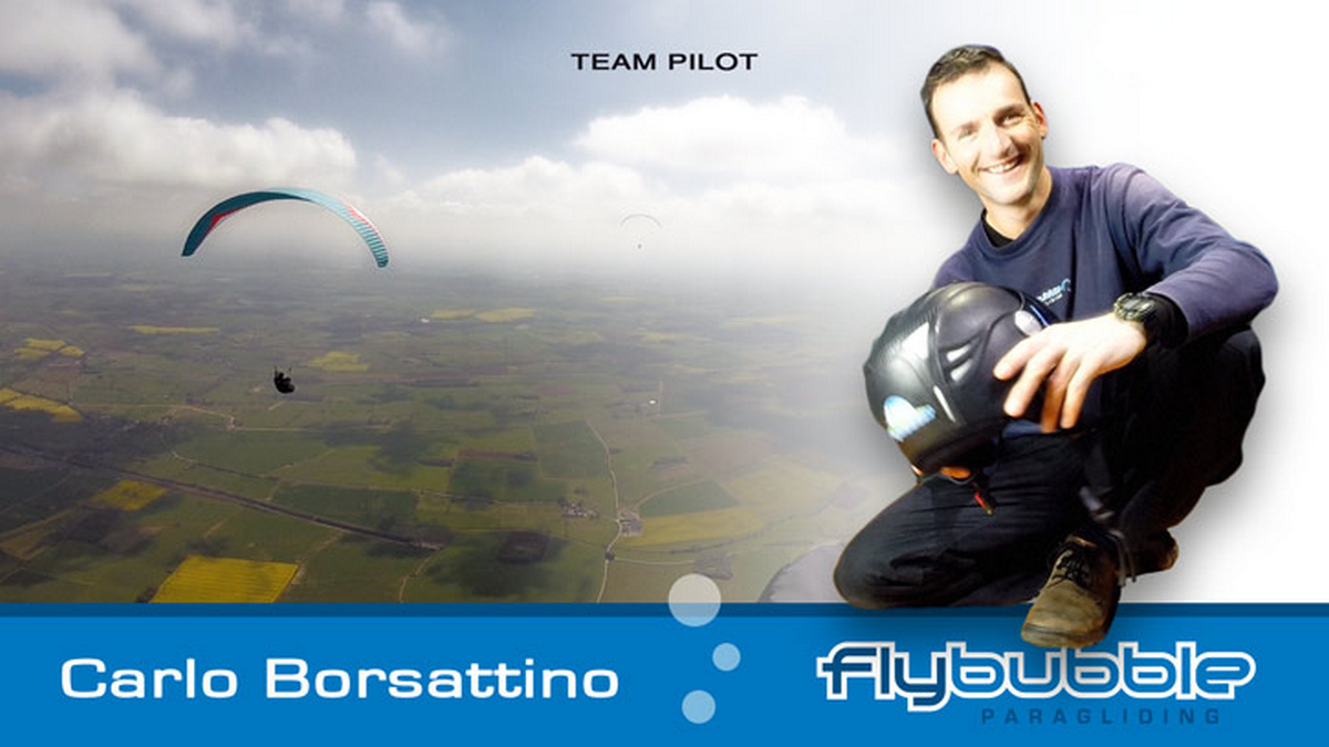 Carlo Borsattino (Flybubble MD & CFI)