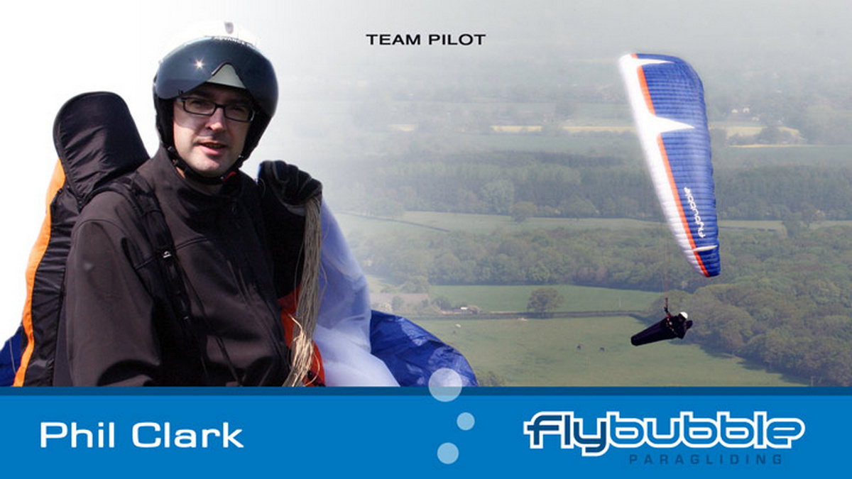 Phil Clark (Flybubble Team Pilot)