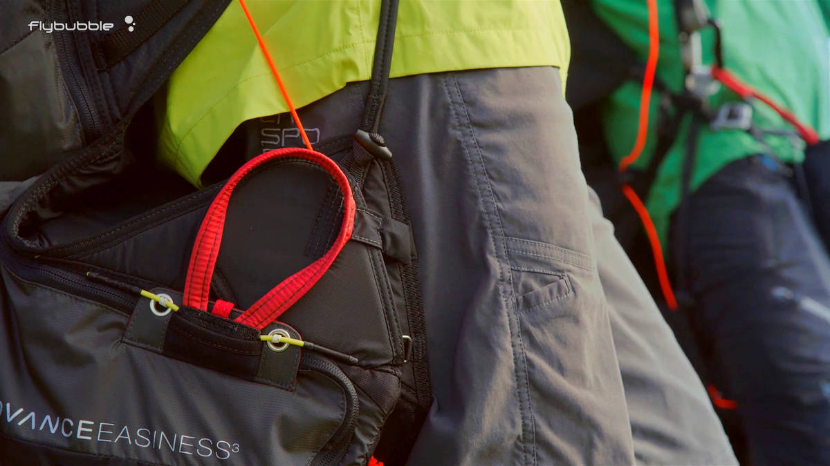 Advance EASINESS 3 paragliding harness review by Flybubble