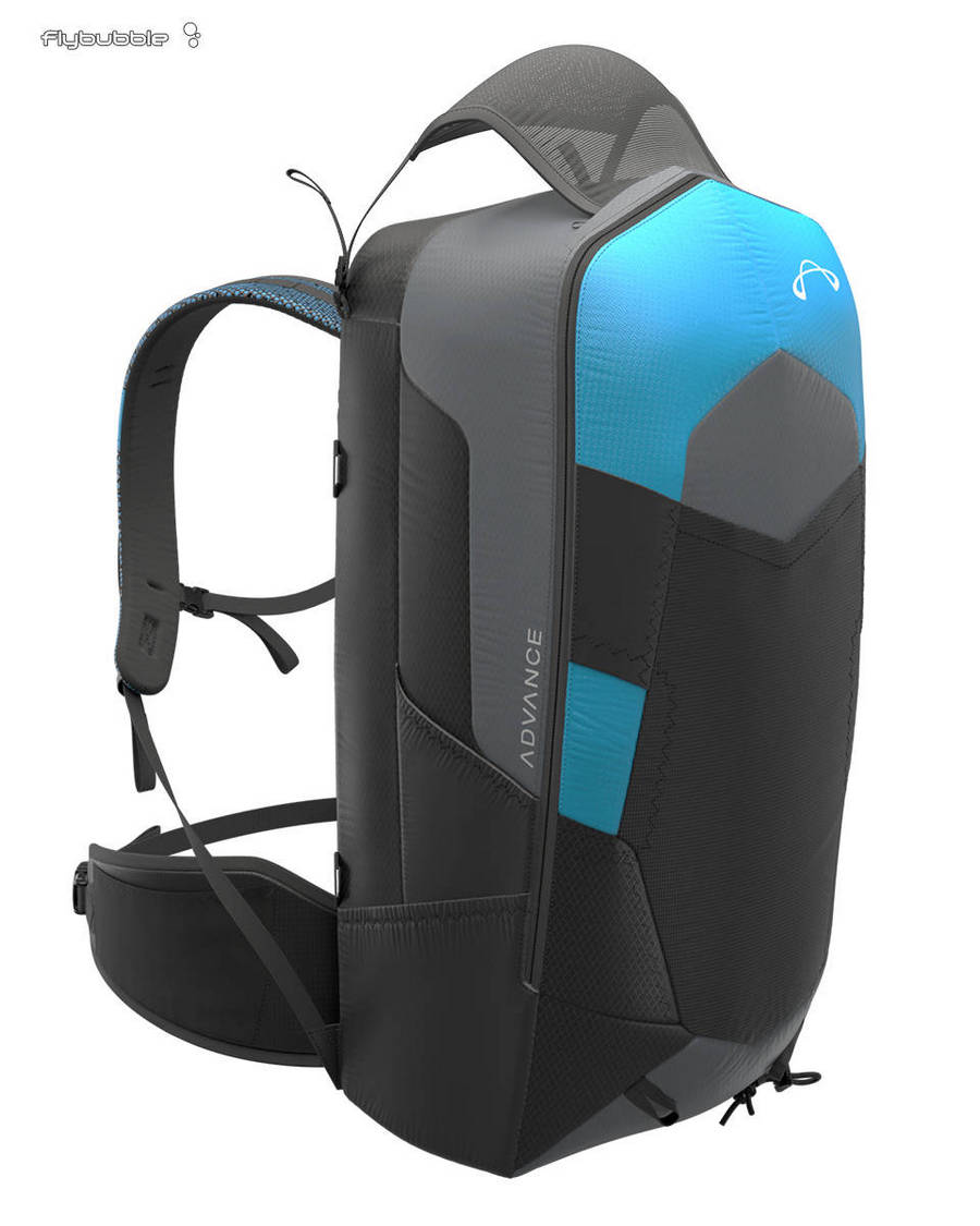 The rucksack - Advance EASINESS 3 paragliding harness review by Flybubble