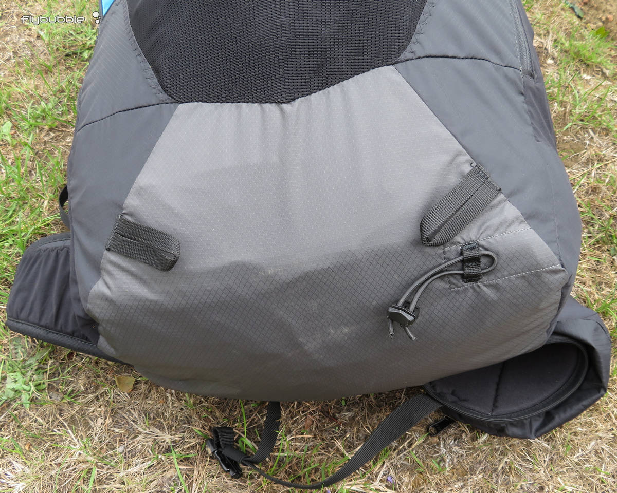 Attachment points for poles, or tent/sleeping bag rolls, or anything else you find yourself walking with, on the bottom and sides.