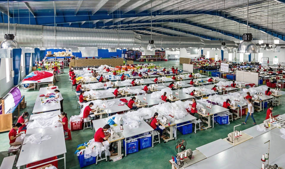 Advance Paragliders production facility in Vietnam