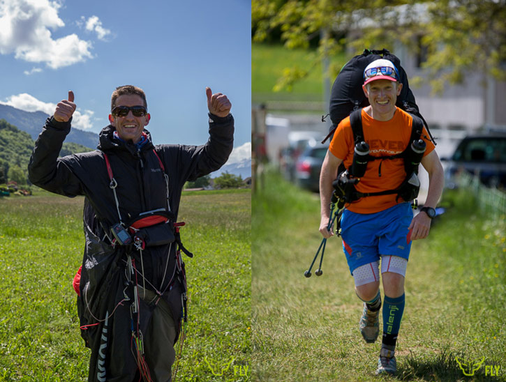 Bornes To Fly: Flybubble Team pilots get to goal