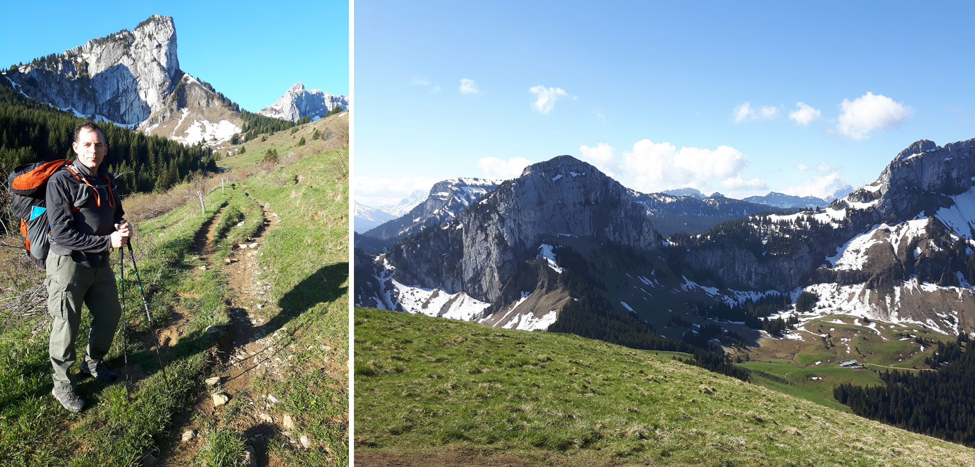 Bornes To Fly: Day 3 hike up to Sur Cou