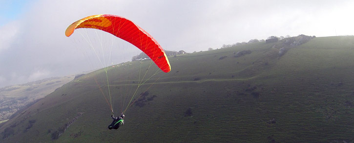 Sup'Air EONA paraglider banks