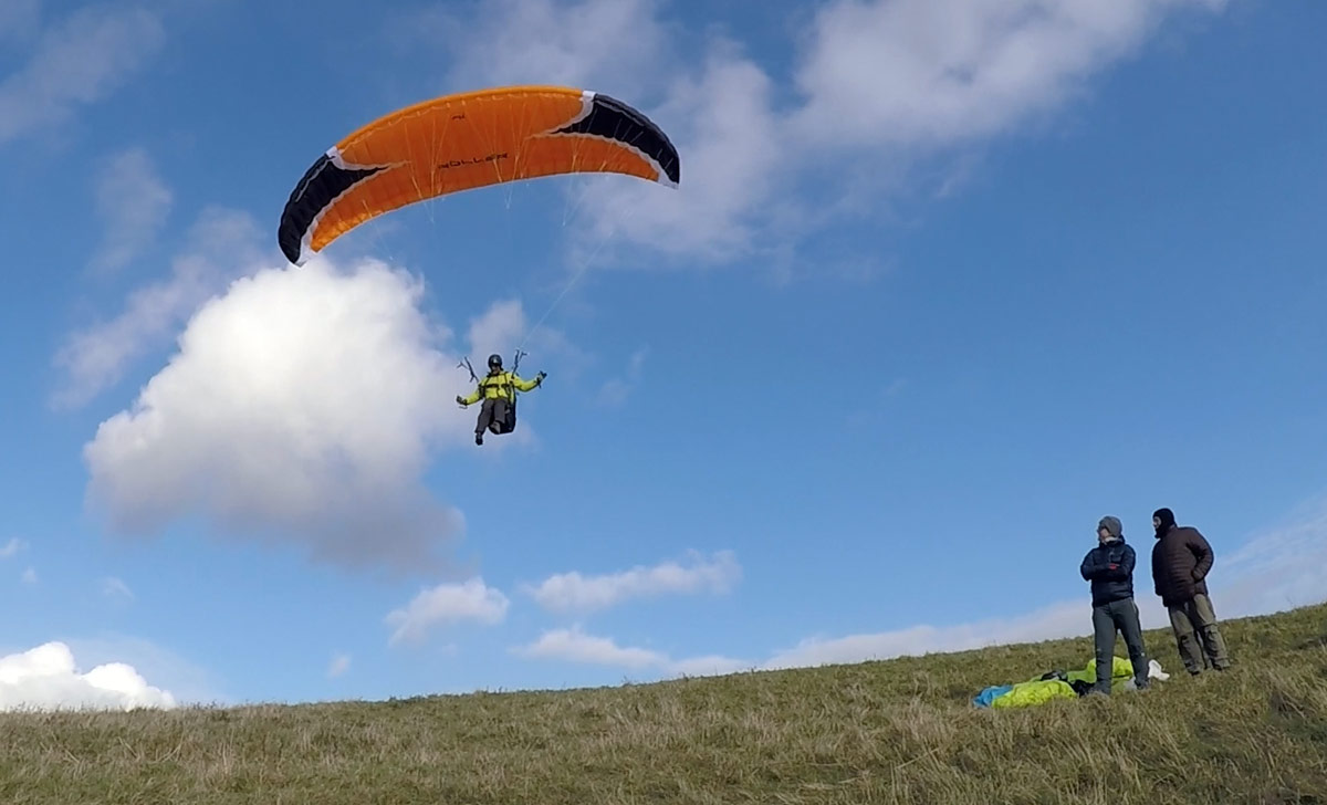Niviuk Roller review - flying when the paragliders can't