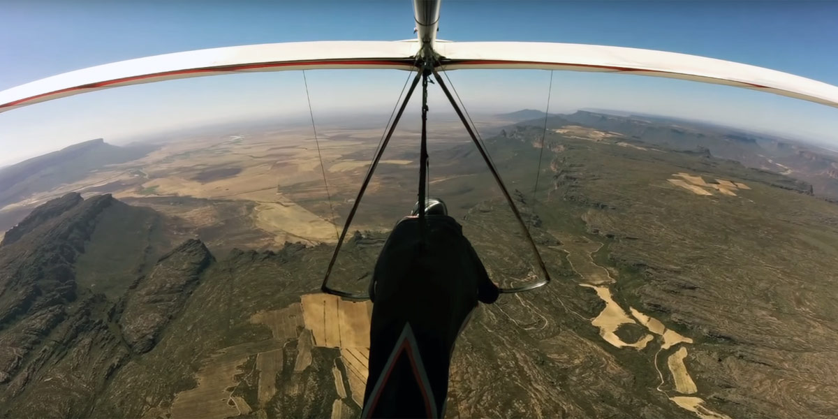 Hang-gliding Until The Mountains End - Flybubble Blog