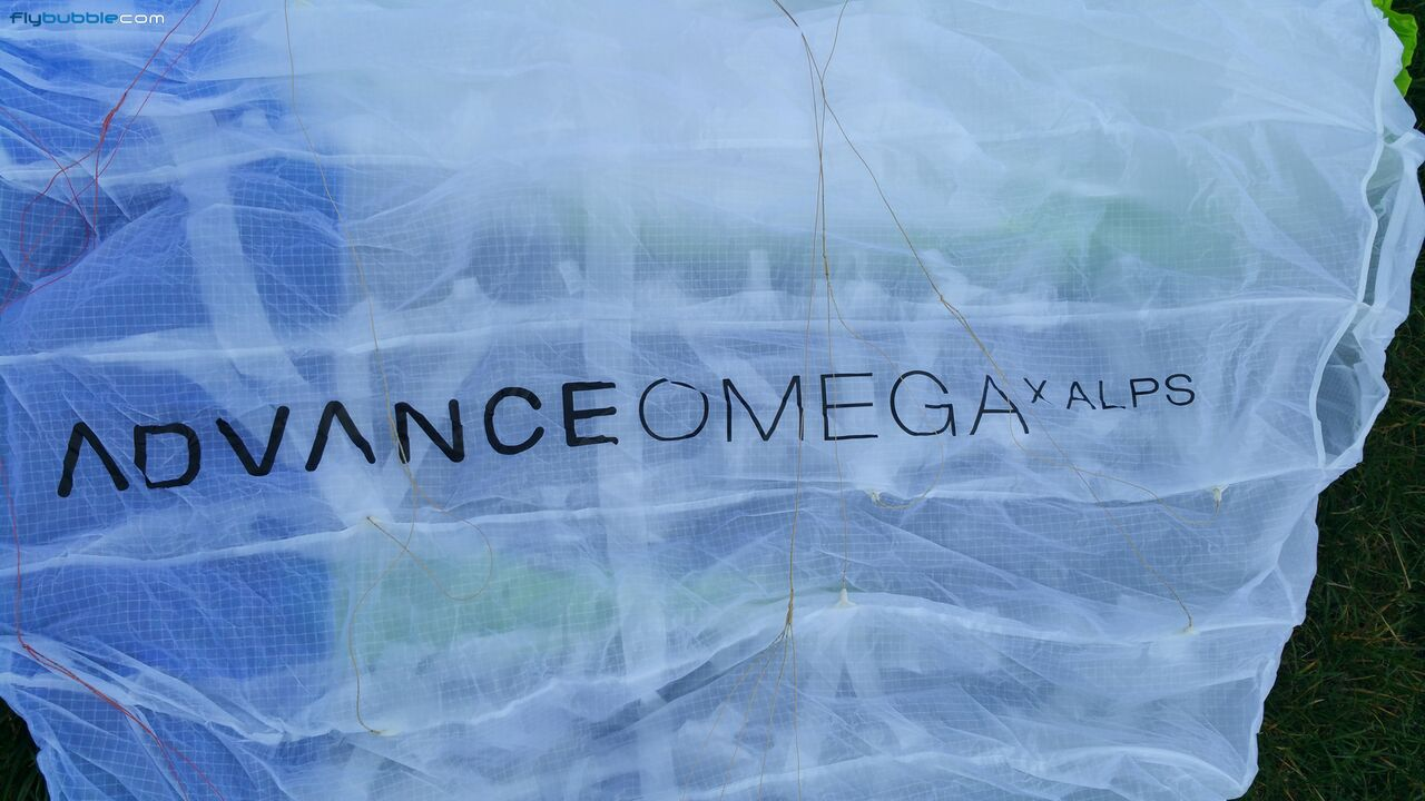 Advance Omega X-Alps wing logo